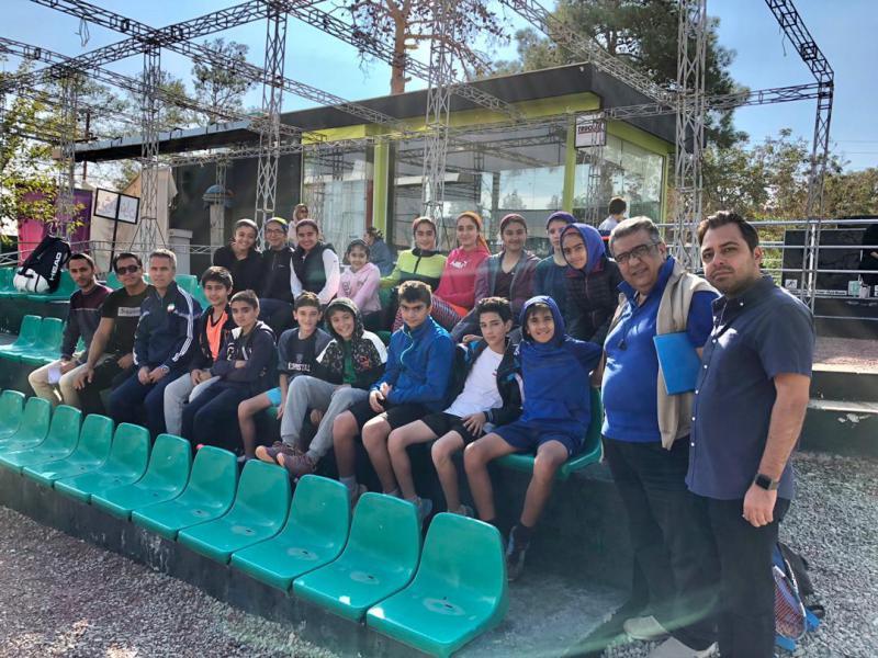 اردوی تیم ملی زیر 13 سال تنیس