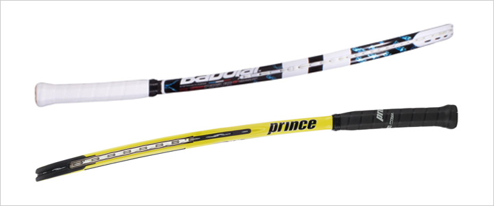 انعطاف پذیری یا سختی راکت تنیس