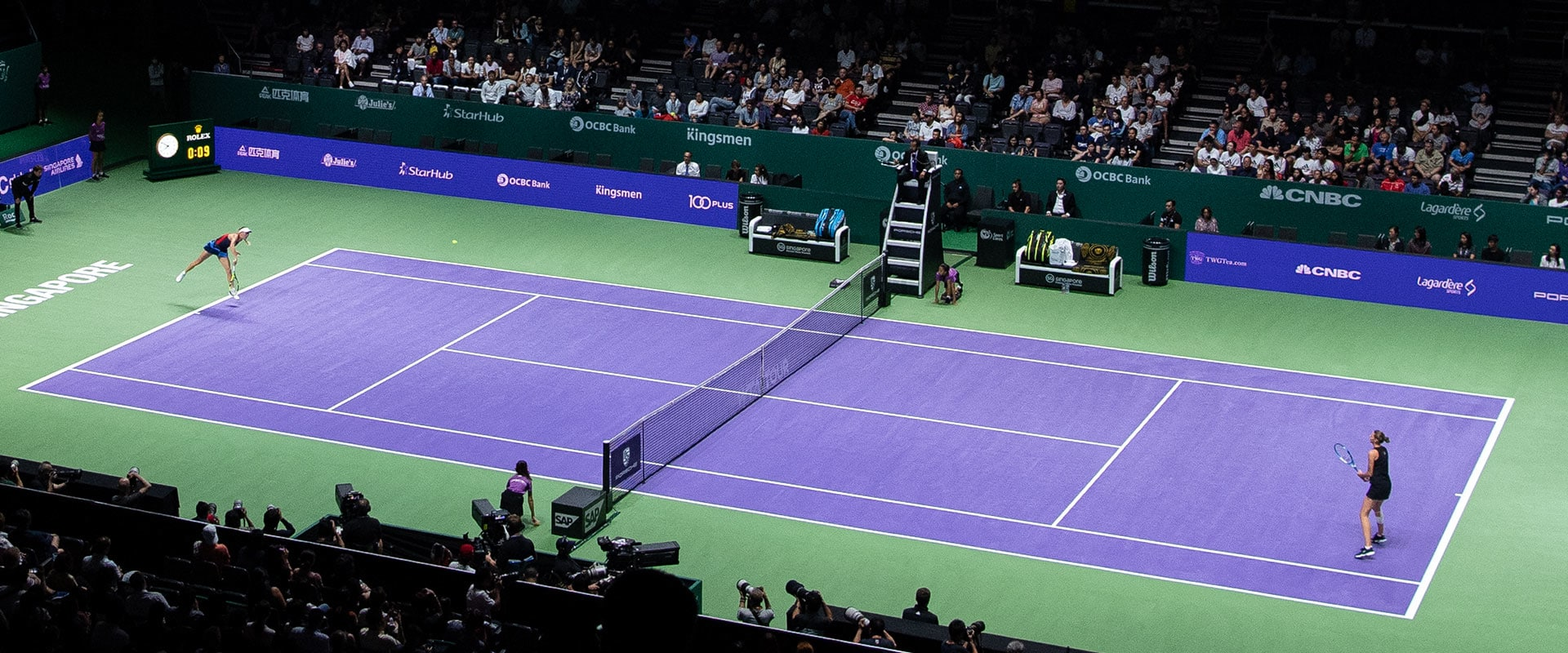 تغییرات جدید بازی تنیس