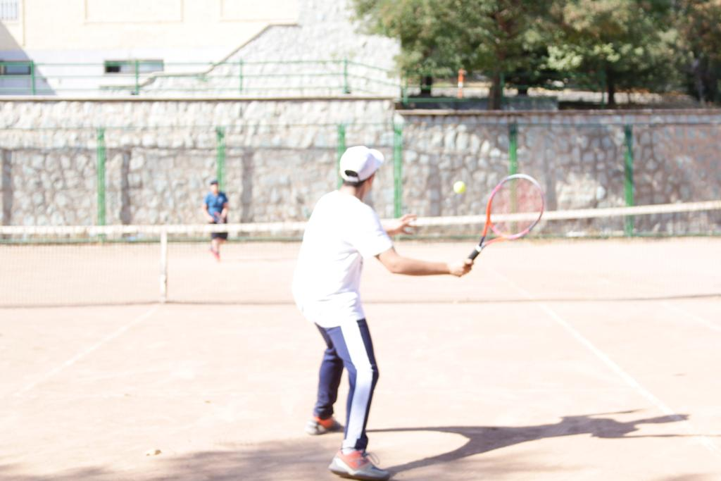 اولین دوره مسابقات زیر 18 سال پسران آکادمی تنیس شاهین