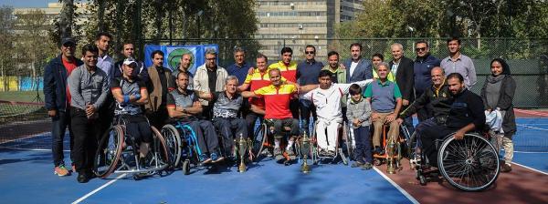 قهرمانی آذربایجان شرقی در مسابقات تنیس با ویلچر کشور