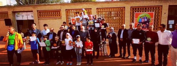 پایان مسابقات تنیس دختران در کرمان